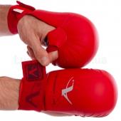 Araza Перчатки для каратэ BO-7250 XS Красный