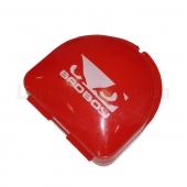 Bad Boy Капа боксёрская в футляре BO-7036 Красный