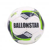 Ballonstar Мяч футбольный №5 PU ламин. FB-5413 Белый/Черный