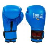 Everlast Перчатки боксёрские Кожа BO-4748 8Oz Синий