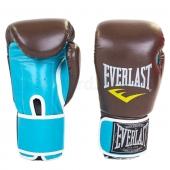 Everlast Перчатки боксёрские BO-5032 8Oz Кофе/голубой