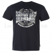 Everlast Printed T Shirt Mens XS Navy