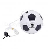 Мяч футбольный тренировочный FB-6883 №3 Черный/Белый