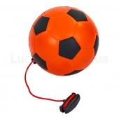 Мяч футбольный тренировочный FB-6884 №5 Оранжевый/Черный
