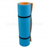 Килимок Optima Plus (1800x600x8) Синий/Оранжевый