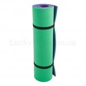 Izolon Коврик Тревел 8 (1800х600) Зеленый/Фиолетовый