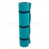 Коврик Yoga Lotos (1800x600x5) Бирюзовый