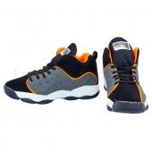 Jordan Обувь для баскетбола мужская OB-3038 41р Черный/Серый/Оранжевый