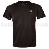 Karrimor Aspen Zip Top Mens M Black/Charcoal