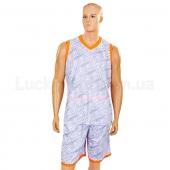 Форма баскетбольная мужская Camo LD-8003 L Серый