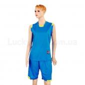 Форма баскетбольная женская Reward LD-8096W L Голубой
