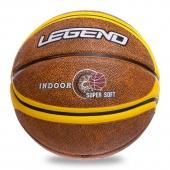 Legend Мяч баскетбольный резиновый №7 BA-1912 Оранжевый