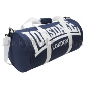 Lonsdale Barrel Bag Navy/White