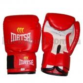 Matsa Перчатки боксёрские MA-0033 PVC 8oz Красный