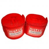 Matsa Бинты боксёрские 2,5м MA-0030 Красный