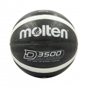 Molten Мяч баскетбольный Composite Leather №7 B7D3500-KS Черный