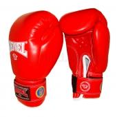 Reyvel Перчатки боксёрские ФБУ (одноцвет) 10oz Красный