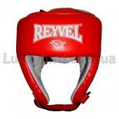 Reyvel Шлем боксёрский Винил (1) М Красный