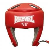 Reyvel Шлем боксёрский Винил (2) М Красный