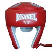 Reyvel Шлем боксёрский Кожа (2) М Красный