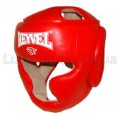 Reyvel Шлем тренировочный Кожа М Красный
