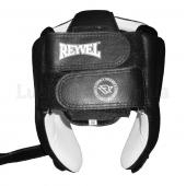 Reyvel Шлем боксерский Кожа подкладка Винил М Черный