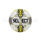 Мяч для футзала №4 ламин. ST Talento ST-651x (5сл., сшит вручную) Желтый/Белый/Серый
