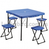 Набор для пикника (стол + 4стула) TO-8833