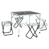 Набор для пикника (стол + 4стула) TO-8833-A