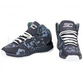 Under Armour Обувь для баскетбола мужская OB-3023 41р Черный/Белый