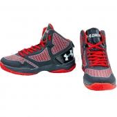 Under Armour Обувь для баскетбола мужская OB-3055 41р Черный/Красный