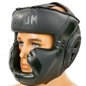 Venum Шлем боксерский с полной защитой BO-7041 S Черный