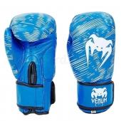 Venum Перчатки боксерские Кожа MA-5430 10Oz Синий