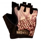 Велоперчатки текстильные Very Good Sport BC-4831 Серый