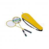 Yonex Набор для бадминтона 2 ракетки в чехле YY-1308 Желтый