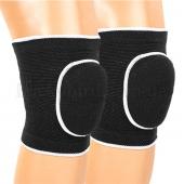 ZEL Наколенник волейбольный (2шт) BC-0735 Детский Черный