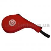 ZEL Ракетка двойная для тхеквондо WTF BO-4746 Красный
