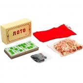 Лото настольная игра в картонной коробке E7708