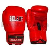 ZEL Перчатки боксёрские MA-0033 4Oz Красный