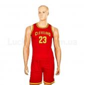 Форма баскетбольная подростковая NBA Cleveland 23 4310 M Бордовый