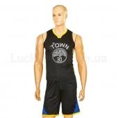 Форма баскетбольная подростковая NBA Town 30 4311 M Черный
