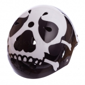 ZEL Шлем для экстремального спорта SKULL SK 5616-015 L Черный/Белый