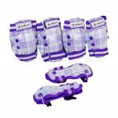 ZEL Защита детская SK-4678 CANDY S Белый/Фиолетовый