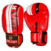 ZEL Перчатки боксёрские ZB-4275 10Oz Красный